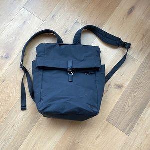 Lululemon Black Rucksack/Backpack - new condition
